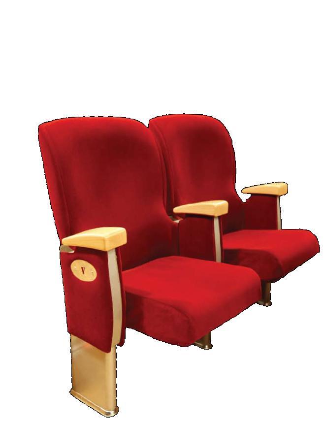 krzesła audytoryjne