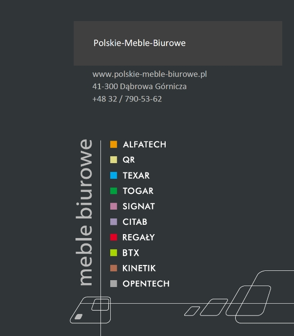 POLSKIE meble biurowe
