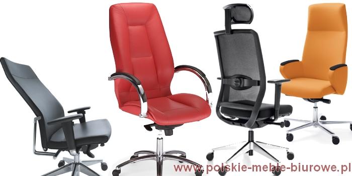 Fotele Gabinetowe Krzesła Biurowe Fotele Skórzane Do Biura