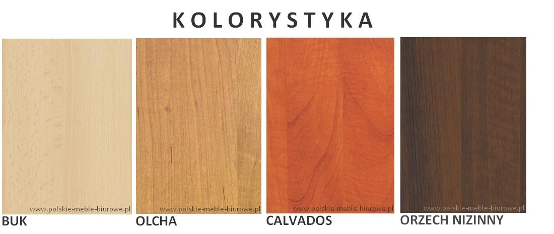 kolory tanich mebli svenbox - buk, olcha, calvados, orzech nizinny