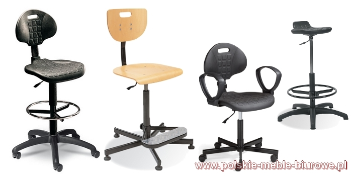 krzesła specjalistyczne przemysłowe laboratoryjne