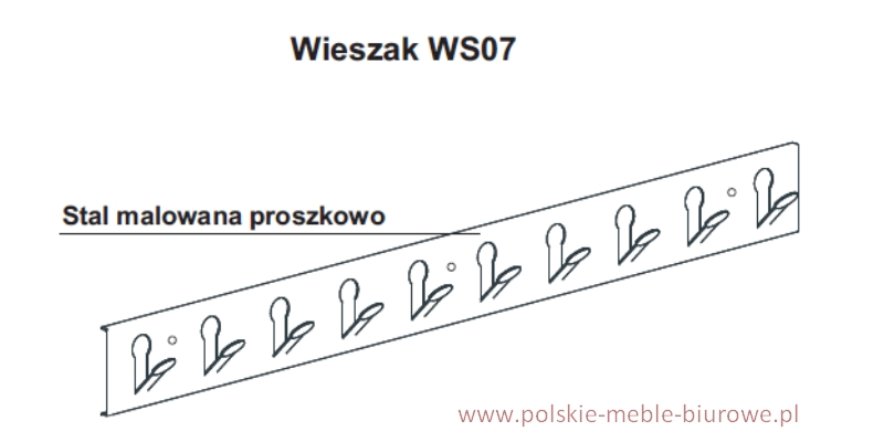 wieszak WS07