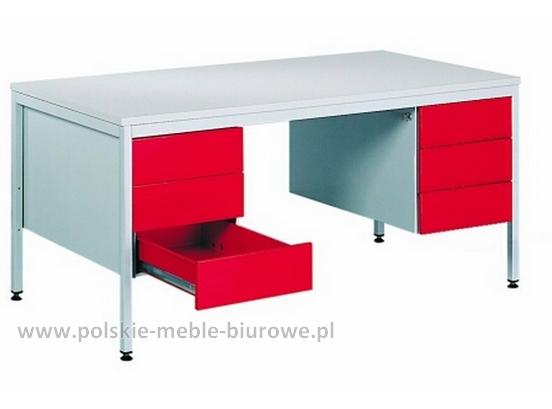 biurko metalowe GBiM212s