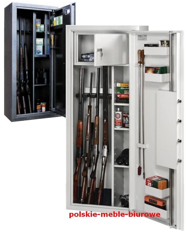 szafy na broń myśliwską