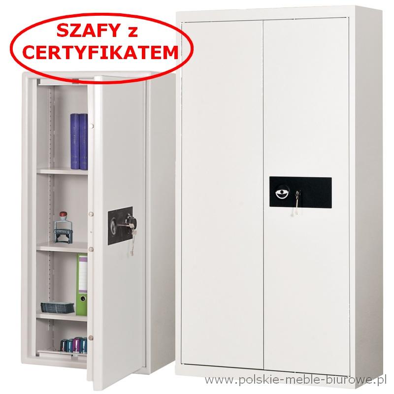 szafy aktowe na dokumenty niejawne