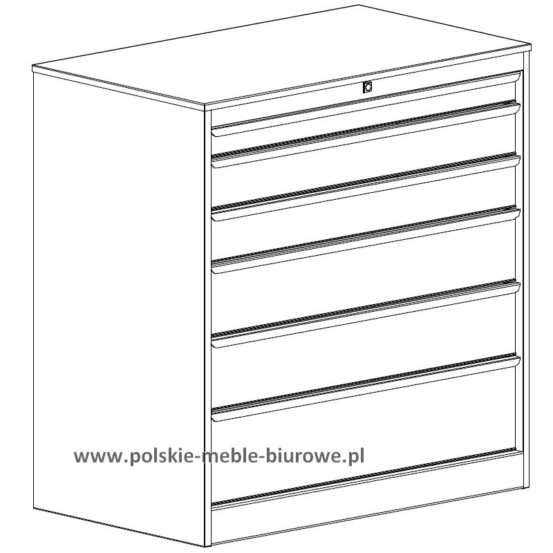 szafka warsztatowa z szufladami
