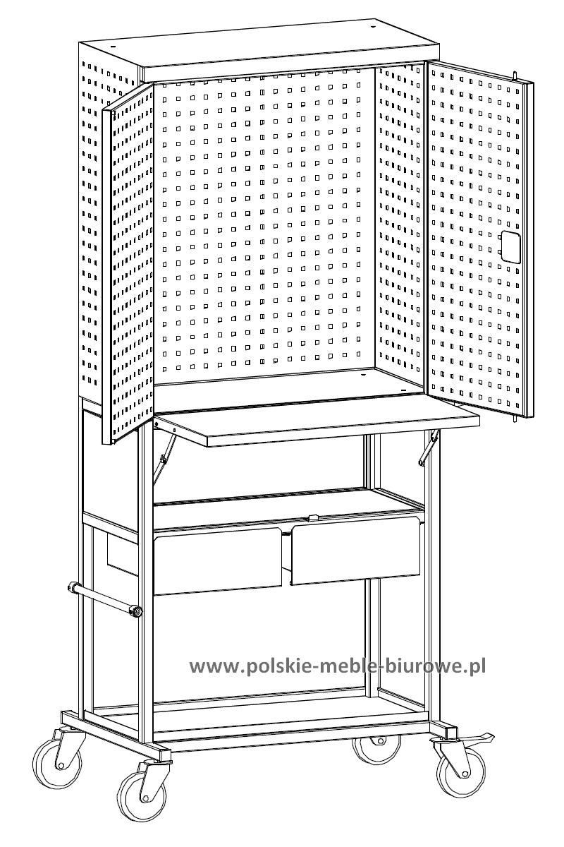 szafka warsztatowa na kółkach