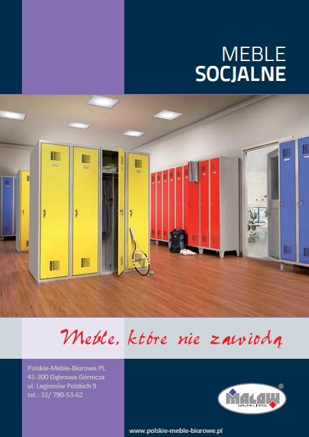 POLSKIE meble metalowe - SOCJALNE