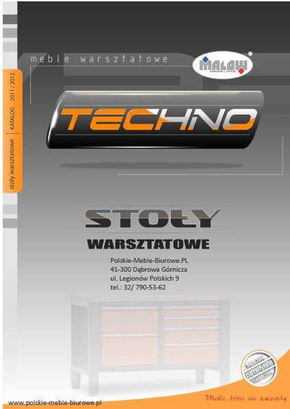 POLSKIE meble warsztatowe - TECHNO EXPERT