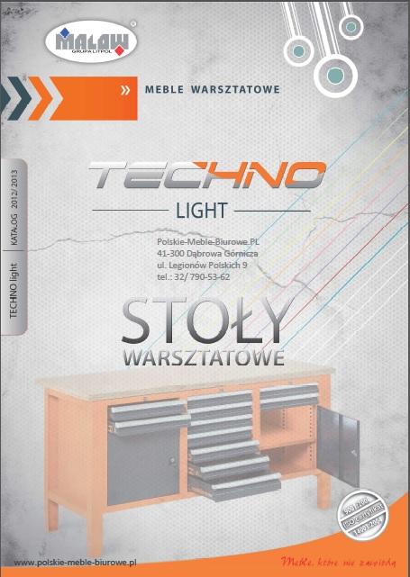 POLSKIE meble warsztatowe - TECHNO LIGHT