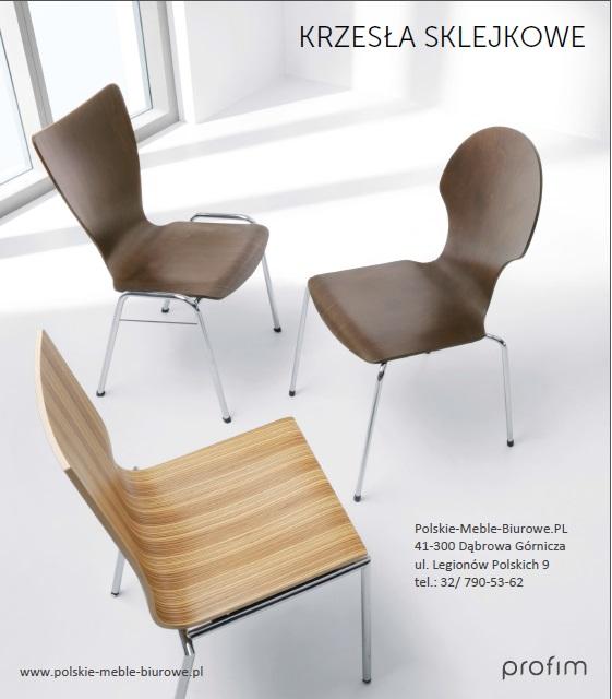 POLSKIE krzesła - katalog sklejkowe