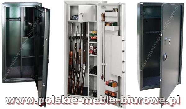 szafy na broń długą - szafy myśliwskie