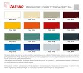 kolory szaf metalowych